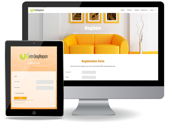 Register your event with Wetindeyhapon